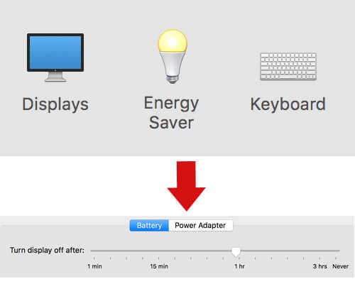 Energy saver MacBook Pro System preferences(1)